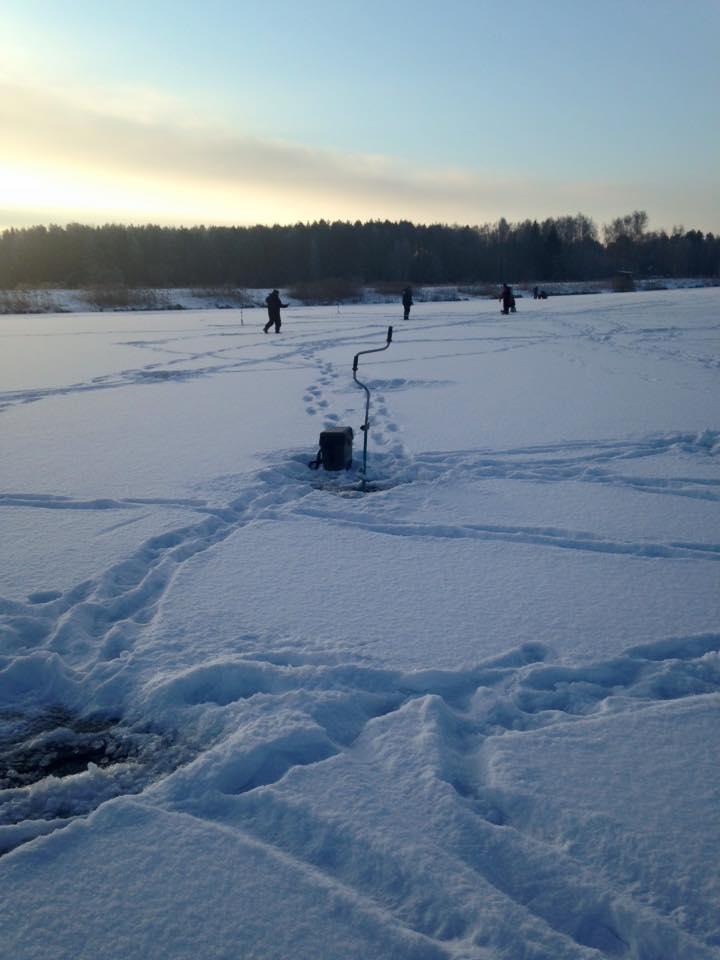 Pramoginė žvejyba žiemą