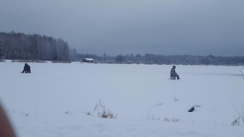 Žvejyba žiemą Lietuvoje